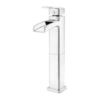 single control vessel bathroom faucet