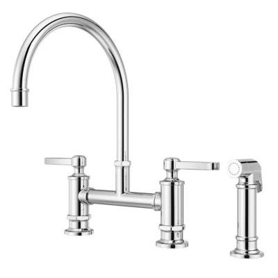 bridge faucets kitchen faucets