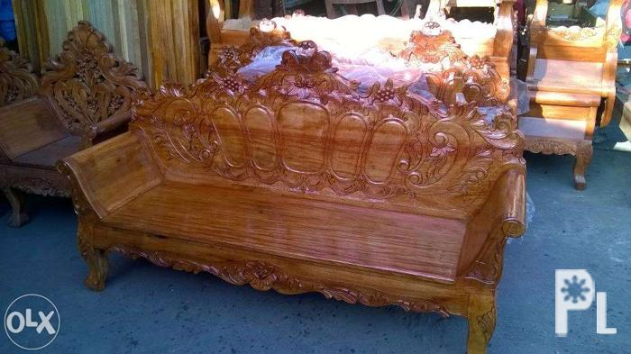 Rene's bamboo furnitures, profile picture. Brand New Solid Narra Cleopatra Sala Set for Sale in ...