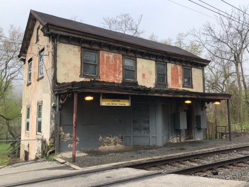 Capturing Shawmont Station before its $1,000,000 preservation begins – the oldest extant passenger rail station in America