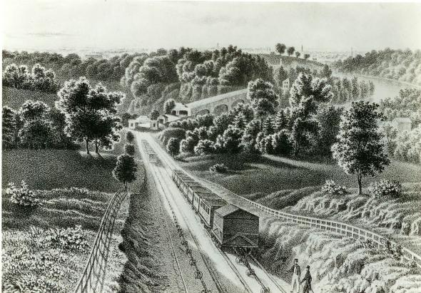View of the inclined plane, 11838