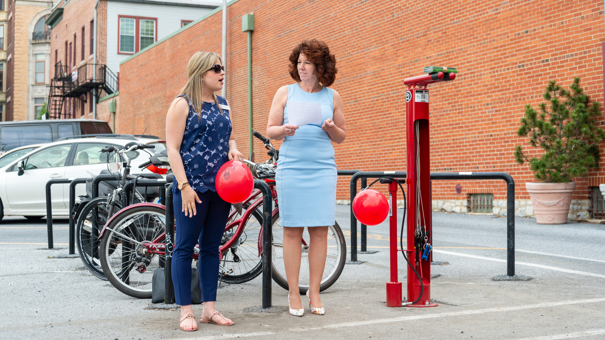 New bike repair station at the Farmers Market ready for public use [Photo Story]