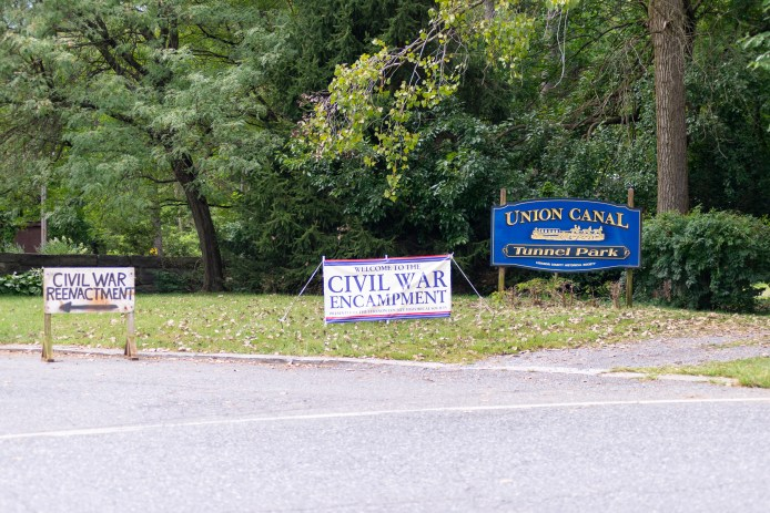Photo Story] Civil War reenactors return to Union Canal