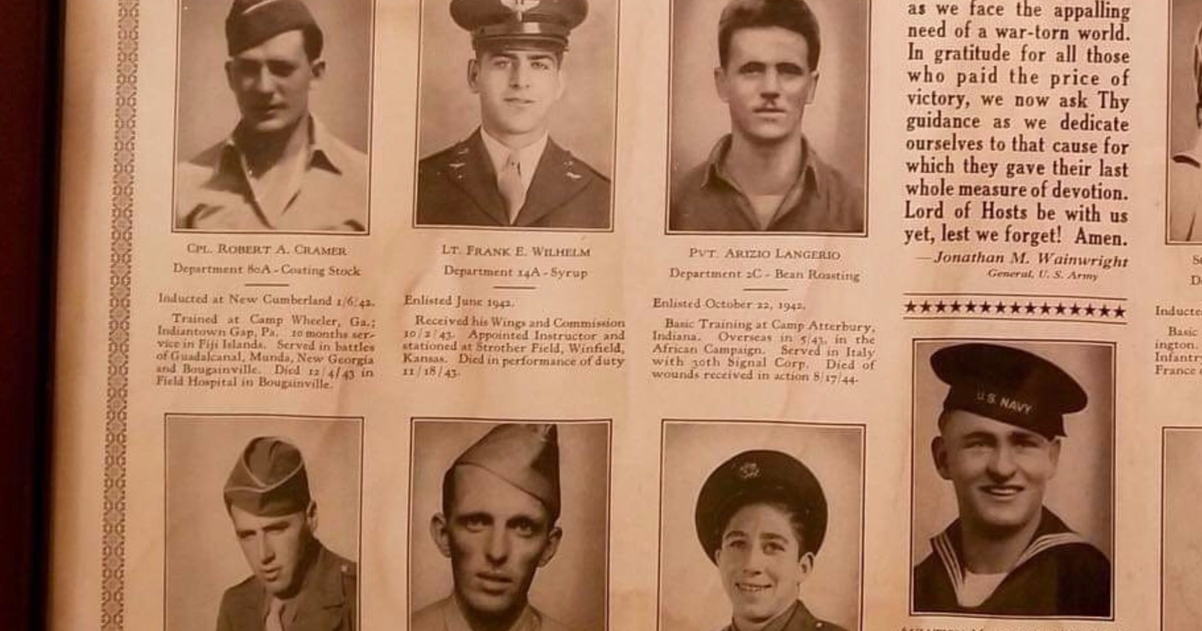 A memorial to local fallen heroes was almost lost. This veteran is preserving their stories