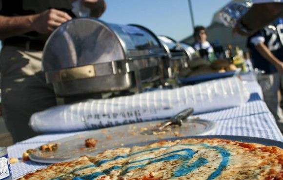 One of the eleven tailgates that entered the competition