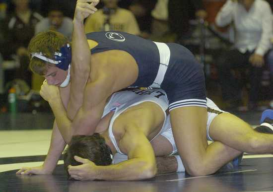 Freshman David Taylor went 2-0 on the weekend with a pin and technical fall