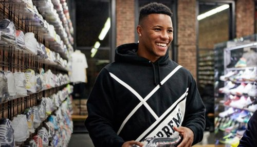 Saquon Barkley Goes On Eventful Sneaker Shopping Spree