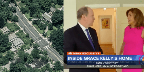 Prince Albert shows off stunning renovations of East Falls' Kelly House