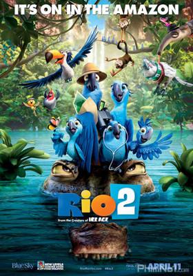 Phim Chú Vẹt Đuôi Dài 2 - Rio 2 (2014)