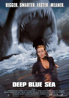 Phim Biển Xanh Sâu Thẳm - Deep Blue Sea (1999)