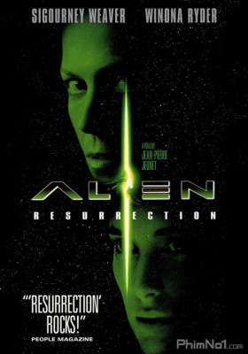 Phim Quái Vật Không Gian 4: Hồi Sinh - Alien: Resurrection (1997)