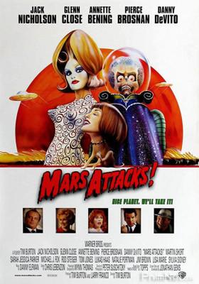 Phim Cuộc Tấn Công Từ Sao Hỏa - Mars Attacks! (1996)