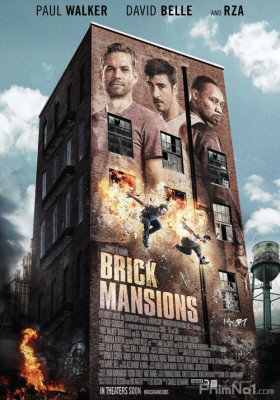 Phim Khu Nguy Hiểm - Brick Mansions (2014)