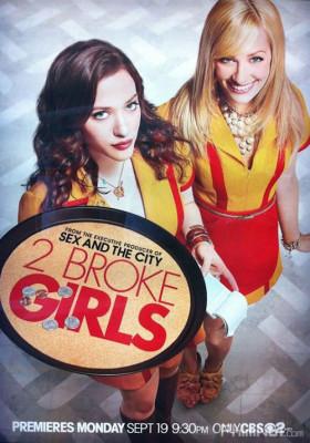 Phim 2 Nàng Bá Đạo: Phần 1 - 2 Broke Girls Season 1 (2011)