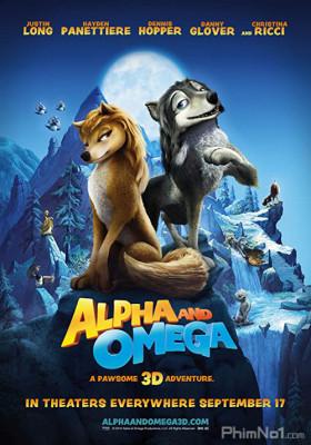 Phim Thủ Lĩnh Sói Xám - Alpha and Omega (2010)