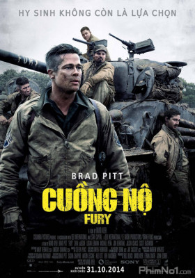 Phim Cuồng Nộ - Fury (2014)