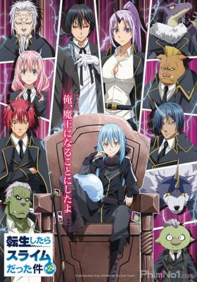 Phim Tensei shitara Slime Datta Ken 2nd Season - That Time I Got Reincarnated as a Slime Season 2 (2021)