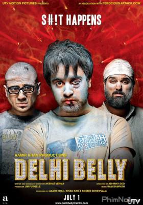 Phim Ba Gã Ăn Hại - Delhi Belly (2011)