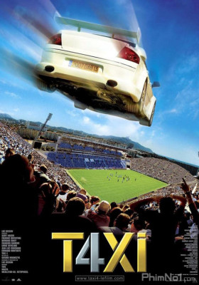 Phim Quái Xế Taxi 4 - Taxi 4 (2007)