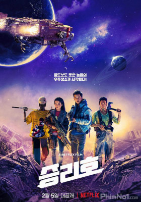 Phim Con Tàu Chiến Thắng - Space Sweepers (2021)