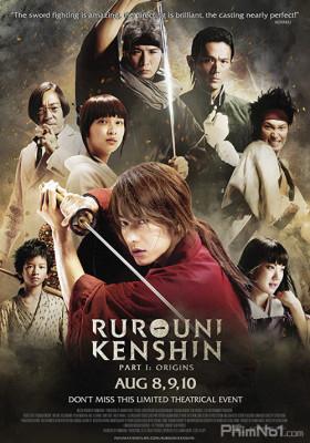 Phim Lãng Khách Kenshin: Sát Thủ Huyền Thoại - Rurouni Kenshin 1: Origins (2012)