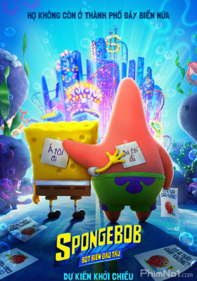 Phim SpongeBob: Bọt Biển Đào Tẩu - The SpongeBob Movie: Sponge on the Run (2020)