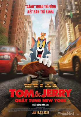 Phim Tom & Jerry: Quậy Tung New York - Tom and Jerry (2021)
