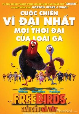 Phim Giải Cứu Gà Tây - Free Birds (2013)