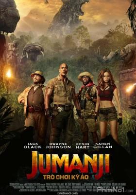 Phim Jumanji: Trò Chơi Kỳ Ảo - Jumanji: Welcome to the Jungle (2017)