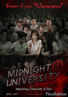 Phim Đại Học Ma - Midnight University (2016)