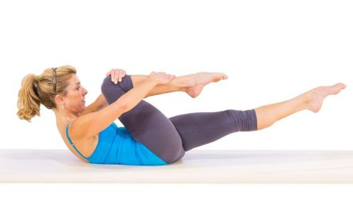 Image result for Bodyweight Single-Leg Stretch