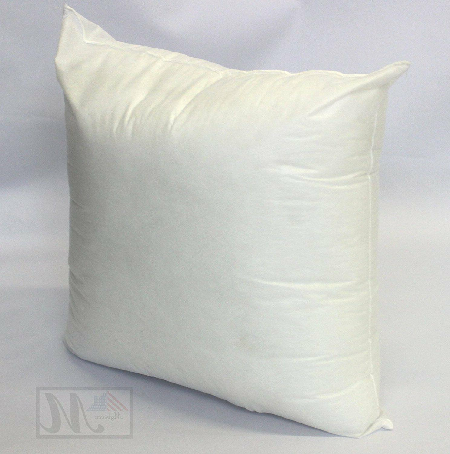 mybecca square euro pillow form insert all sizes made in usa pillow forms insert bedding uniforce home garden