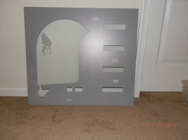 Stern Catacomb Reproduction Backglass | Pinball parts for ...