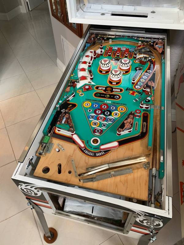 Onobtanium Bally Eight Ball Playfield and backglass...Why ...