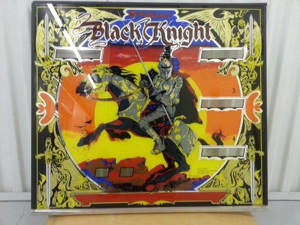 WTB: Black Knight backglass | Pinball machines for sale ...