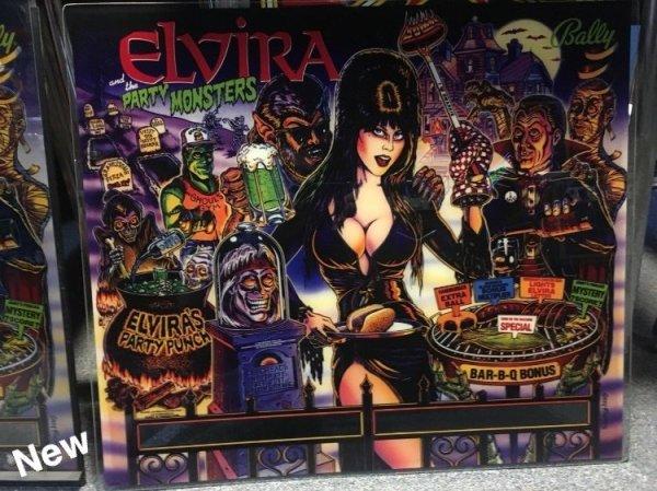 CPR Elvira Reproduction Backglass vs Translite Comparison ...
