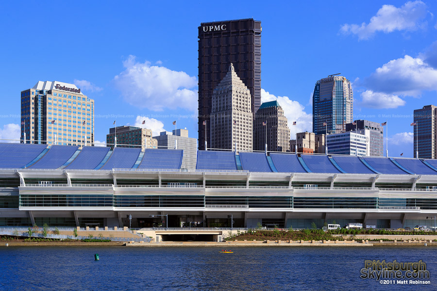 David L. Lawrence Convention Center in Pittsburgh