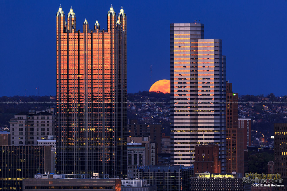 Pittsburgh Moonrise