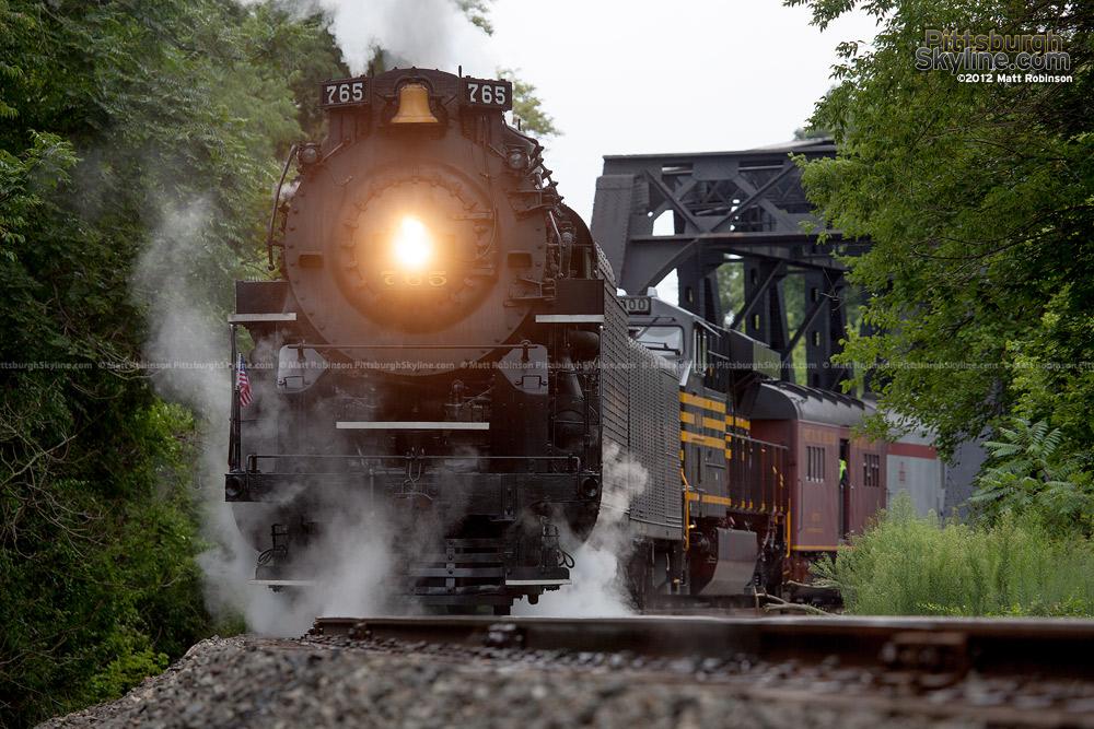 Steam returns to Western Pennsylvania