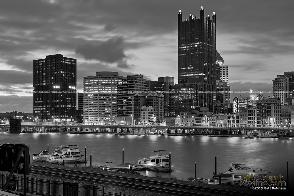 Black and White PPG Place