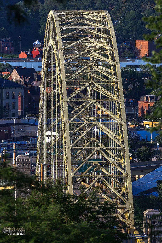 West End Bridge viewed head on