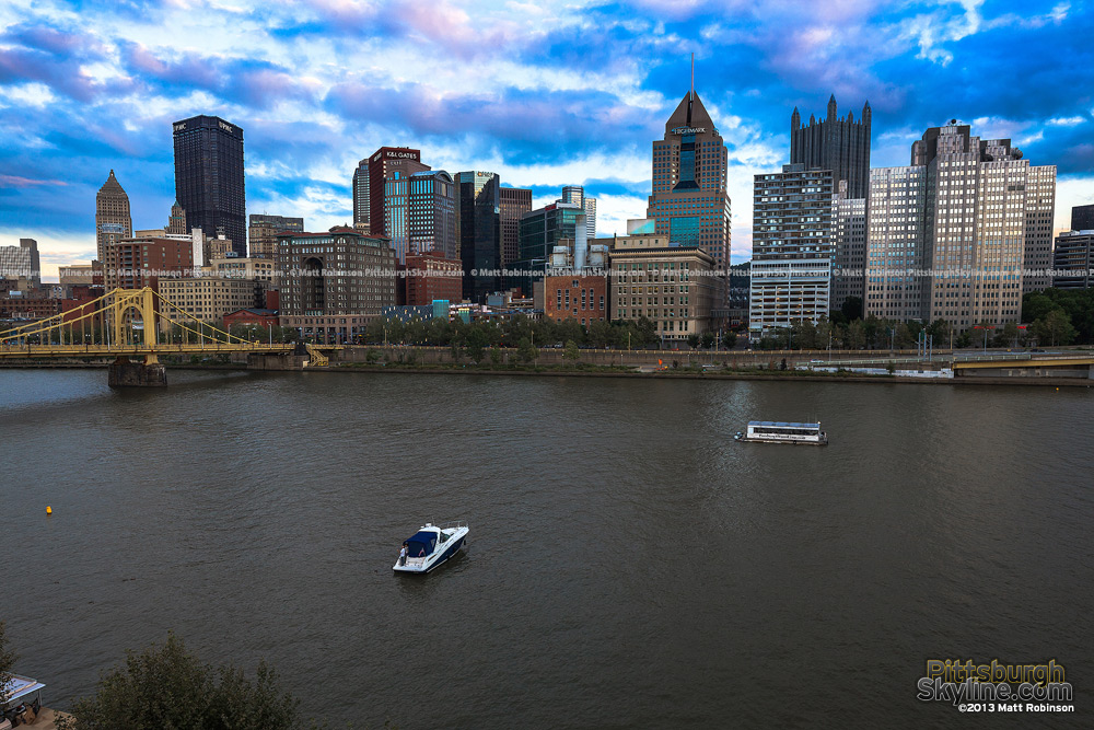 Pittsburgh and the Allegheny River from PNC Park