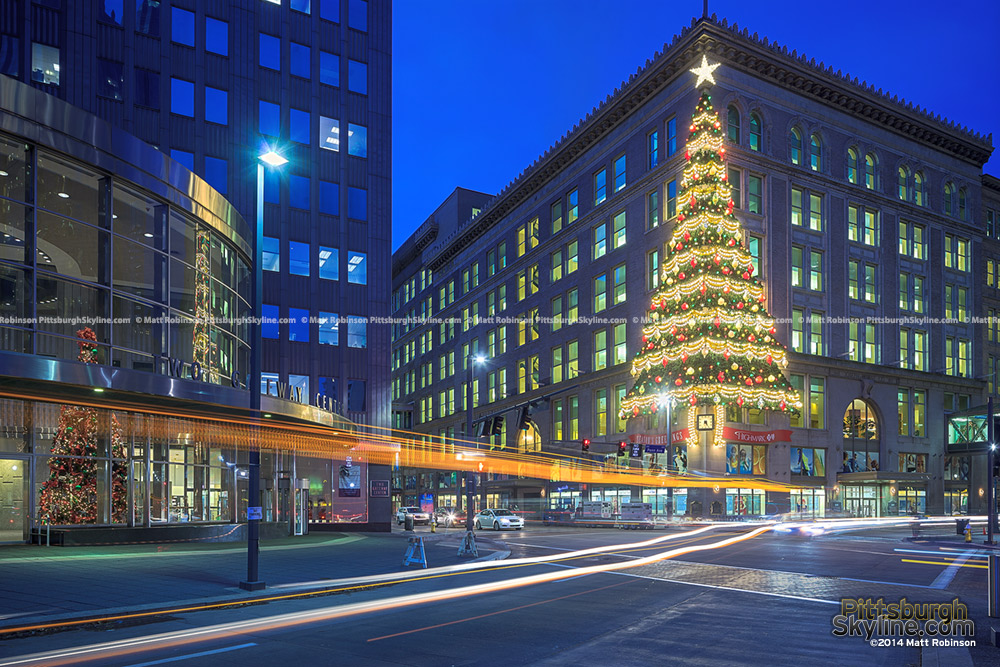 Joseph Horne's Department Store Christmas Tree Highmark Unity