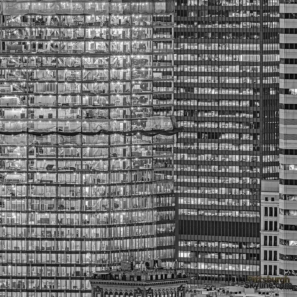 Black and White City windows
