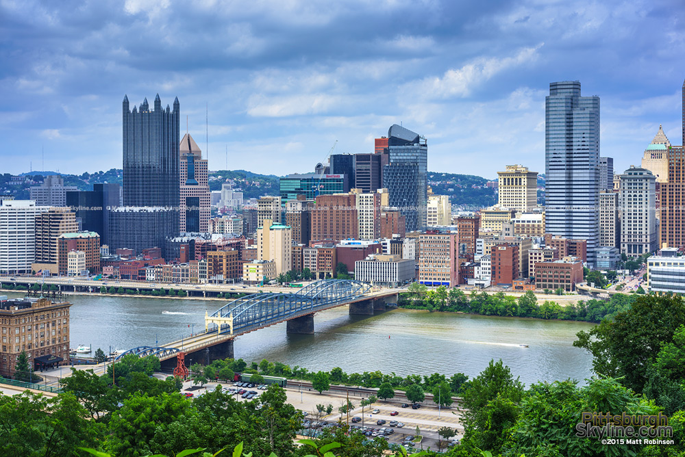 Downtown Pittsburgh from a newer angle