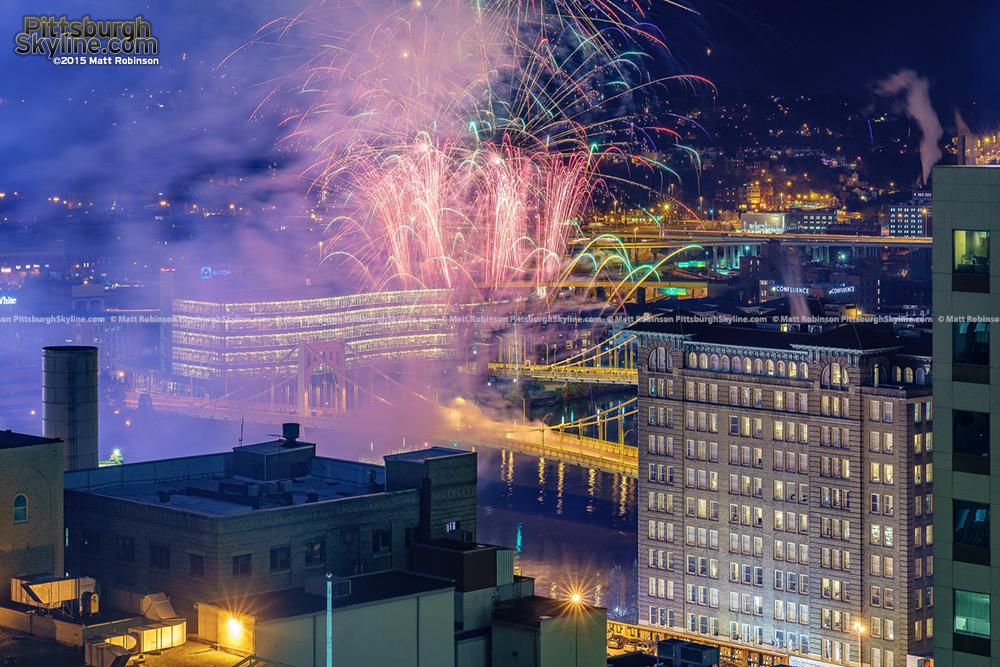 2015 Light Up Night Fireworks