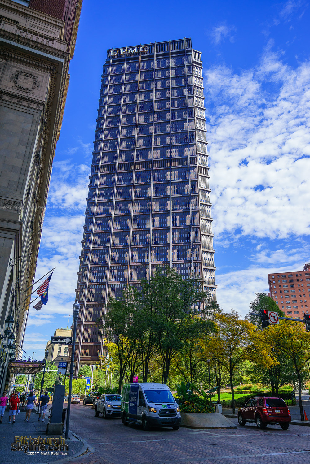 U.S. Steel Tower on Grant Street