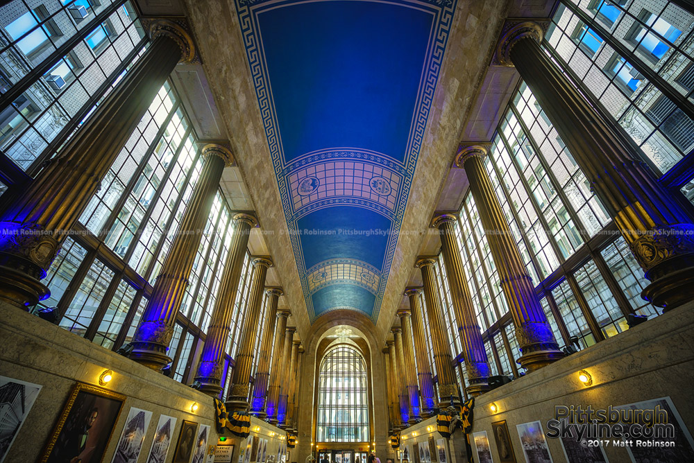 Lobby of the City-County Building in Downtown Pittsburgh