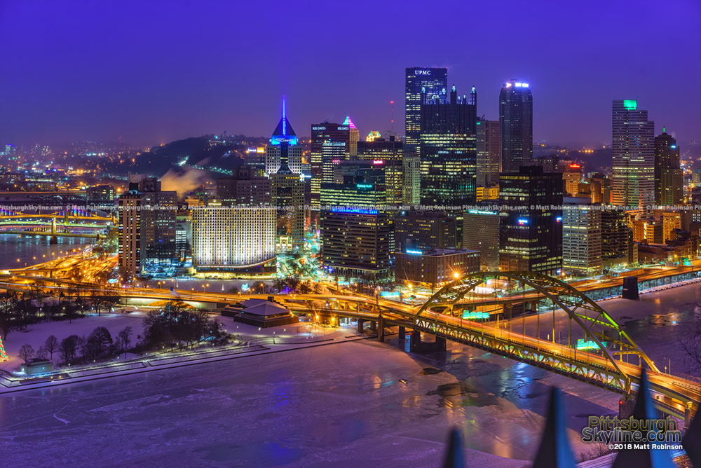 Downtown Pittsburgh January 2018