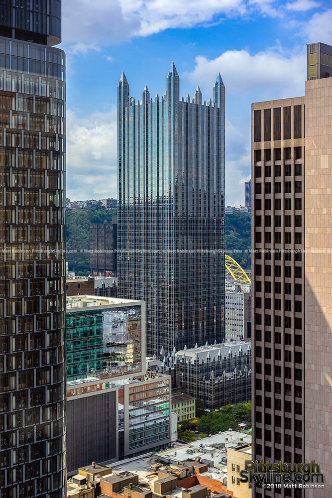PPG Place from the Oliver Building